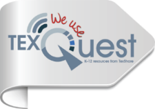Logo for TextQuest- Link to database page